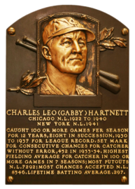 Hartnett Gabby Plaque_NBL
